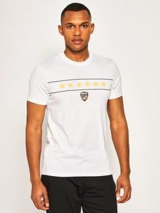 T-shirt Blauer z nadrukiem z krótkim rękawem
