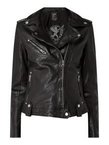 Czarna kurtka Gipsy krótka w rockowym stylu