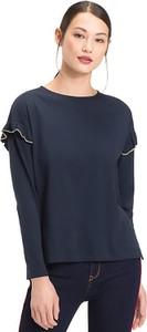 Niebieska bluzka Tommy Hilfiger z długim rękawem