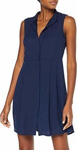 Sukienka amazon.de bez rękawów z dekoltem w kształcie litery v