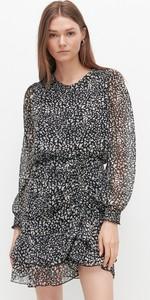 Sukienka Reserved w stylu casual mini z okrągłym dekoltem