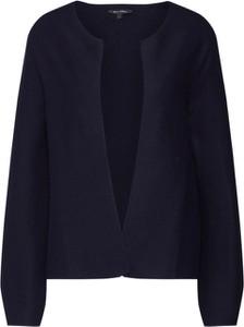 Granatowy sweter Marc O'Polo w stylu casual z dzianiny