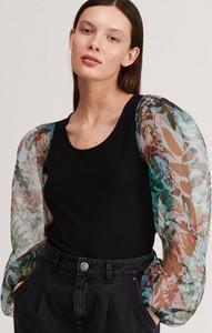 Bluzka Reserved z długim rękawem w stylu boho