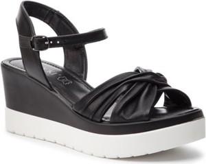 Czarne sandały Lasocki z klamrami w stylu casual