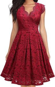 Sukienka Elegrina z bawełny z krótkim rękawem