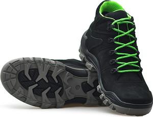 Buty zimowe NIK z nubuku sznurowane