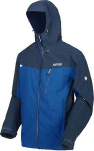 Niebieska kurtka Regatta krótka w sportowym stylu