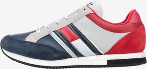a006721bb86b7 Buty sportowe Tommy Hilfiger sznurowane z zamszu