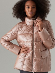 Różowa kurtka Mohito krótka