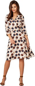 Sukienka POTIS & VERSO midi z długim rękawem