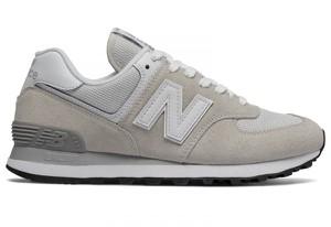 Buty New Balance w sportowym stylu z zamszu z płaską podeszwą