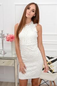 Sukienka Paris bez rękawów mini