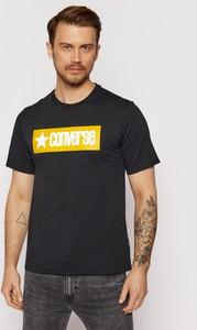 T-shirt Converse z bawełny z krótkim rękawem