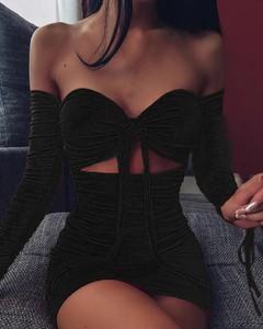 Sukienka Kendallme bodycon z dekoltem w kształcie litery v