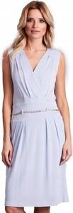 Sukienka Inna z dekoltem w kształcie litery v