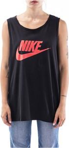 Top Nike z okrągłym dekoltem