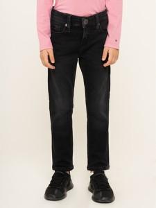 Czarne jeansy dziecięce Tommy Hilfiger