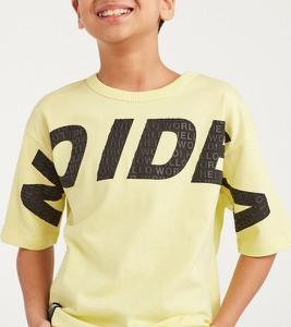 Żółta koszulka dziecięca Reserved