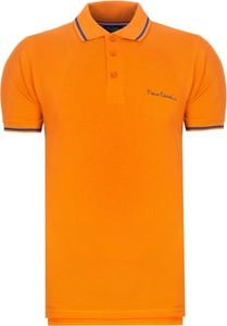 Koszulka polo Pierre Cardin z bawełny w stylu casual