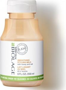 Biolage RAW wygładzające mleczko z ekstraktem z owsa i miodem 200ml