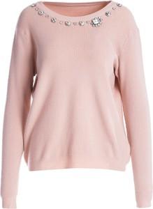 Różowy sweter Multu