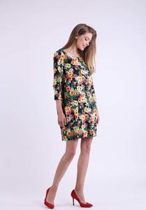 Sukienka Nommo w stylu casual z długim rękawem mini