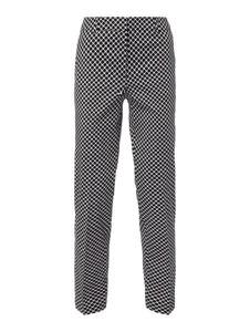 Spodnie Montego w stylu casual z bawełny