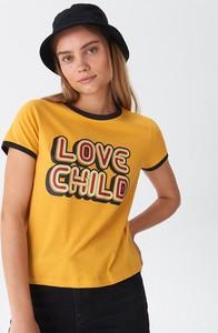 Żółty t-shirt House