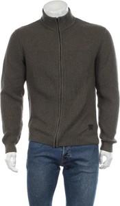 Zielony sweter Wrangler ze stójką w stylu casual