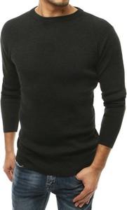 Czarny sweter Dstreet z dzianiny