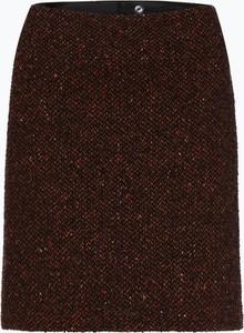 Czerwona spódnica Marie Lund mini z jedwabiu