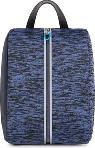 Niebieska walizka PIQUADRO