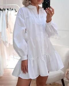 Sukienka Kendallme koszulowa z długim rękawem