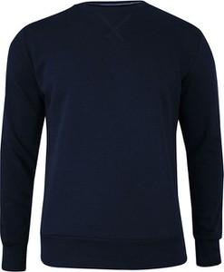 Granatowa bluza Brave Soul w stylu casual z bawełny