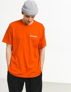 Pomarańczowy t-shirt Element