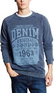 Bluza blend 20700575 dla m??czyzn, kolor: niebieski