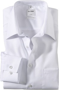 Koszula Olymp z bawełny z klasycznym kołnierzykiem