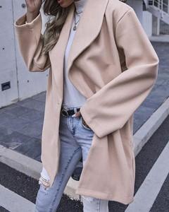 Płaszcz Kendallme z wełny w stylu casual