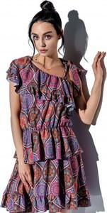 Fioletowa sukienka Lemoniade