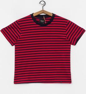 T-shirt The Hive z żakardu w stylu casual z krótkim rękawem