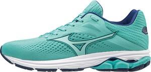 Zielone buty sportowe Mizuno sznurowane