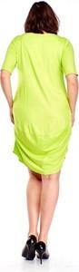 Miętowa sukienka Nubile