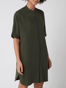 Zielona sukienka Marc O'Polo DENIM w stylu casual z krótkim rękawem