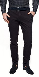 Czarne spodnie recman w stylu casual