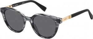 Czarne okulary damskie Max-mara