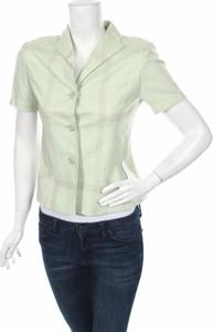 Zielona koszula Remixshop z kołnierzykiem