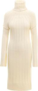 Sukienka Sportmax z golfem z długim rękawem mini