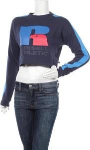 Bluzka Russell Athletic z długim rękawem z okrągłym dekoltem