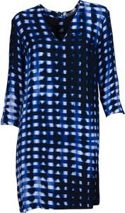 Niebieska sukienka Tiger Of Sweden w stylu casual mini z długim rękawem