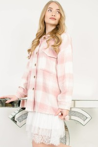 Różowa koszula Olika